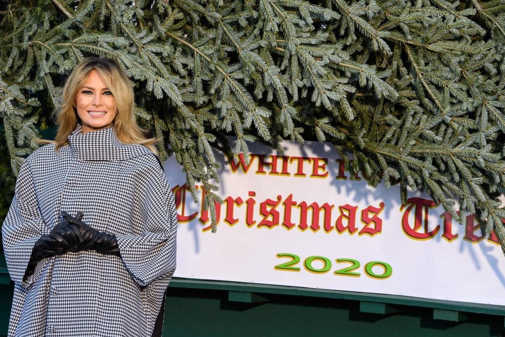 US-POLITICS-HOLIDAY-MELANIA