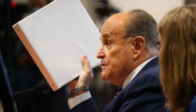 Rudy Giuliani Appears Before Michigan State Legislature's House Oversight Committee