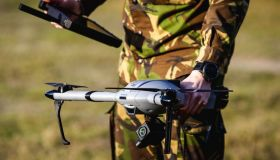 NETHERLANDS-DEFENCE-MILITARY-DRONE