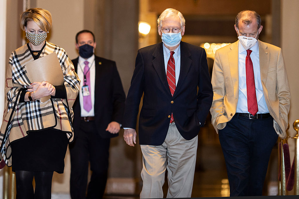 Lawmakers Continue Work On Coronavirus Relief Deal And Omnibus Spending Package