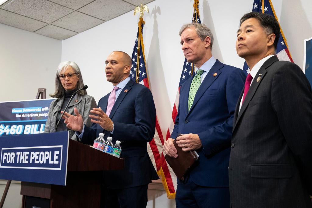 House Democratic Caucus Meets To Discuss Impeachment