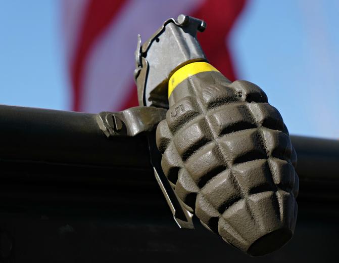 World War II Hand Grenade Replica
