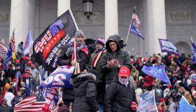 Pro-Trump Protests over Electoral College Vote Certification