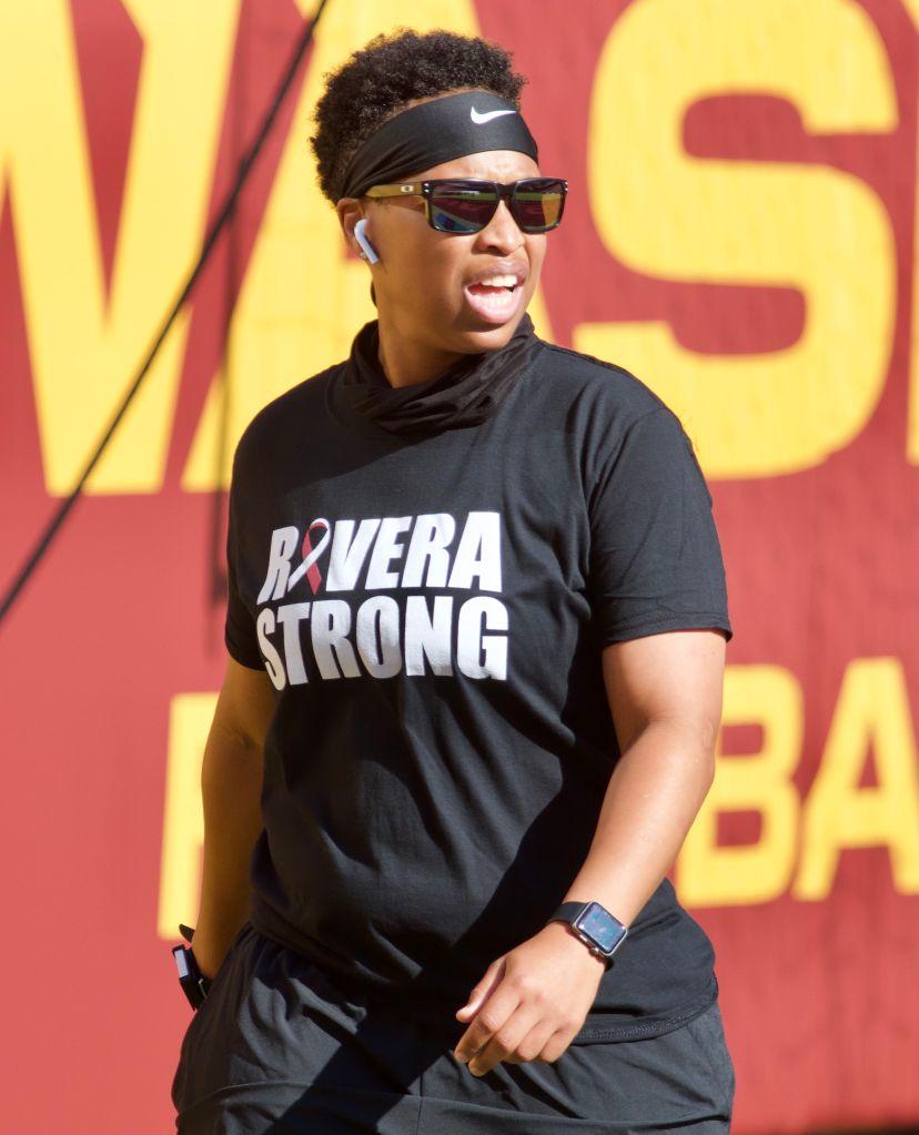 Coach Jennifer King Washington Football Team