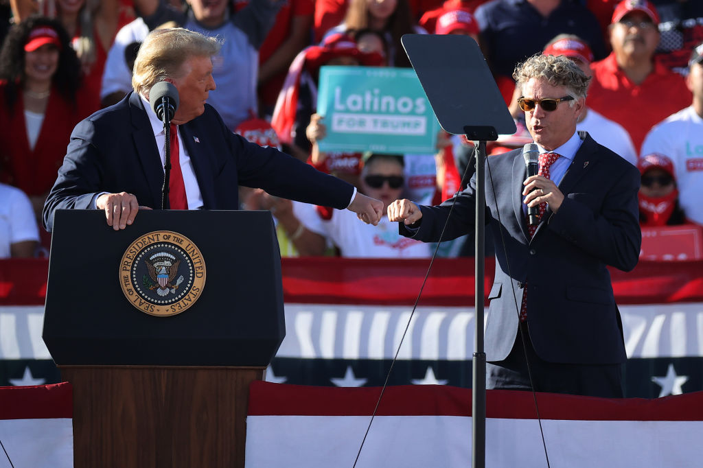 Donald Trump Campaigns In Arizona Ahead Of Presidential Election