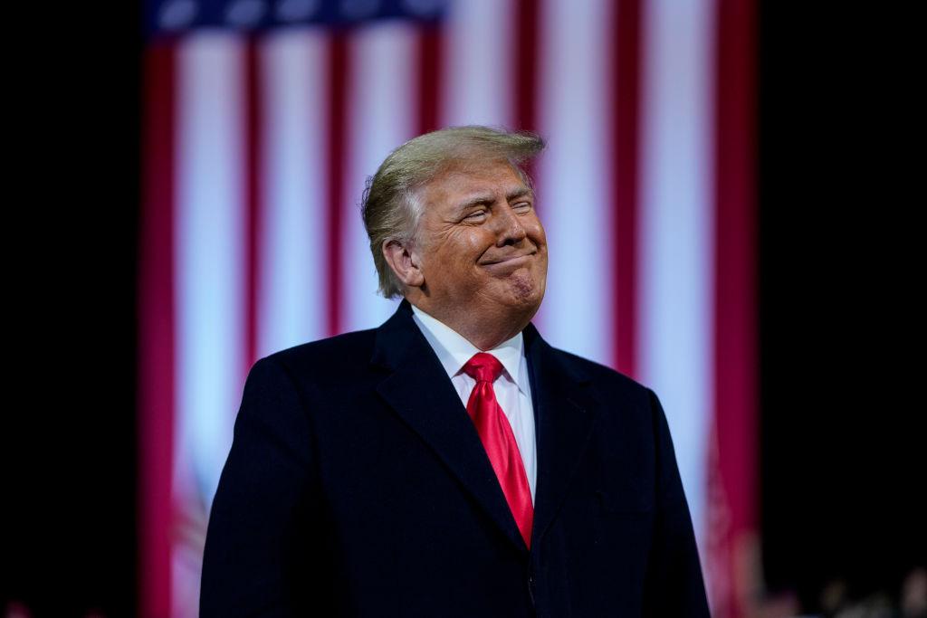 Trump holds rally in Valdosta, Georgia
