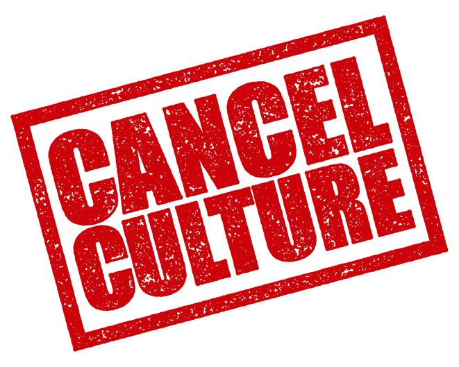Cancel Culture Rubber Stamp