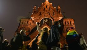 Protests Against Abortion Ruling Continue In Poland