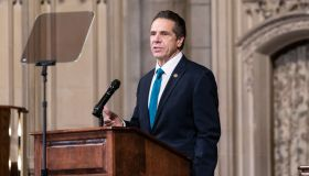 Governor Andrew Cuomo delivers remarks at Riverside Church...