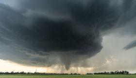 View Of Tornado In Kansas