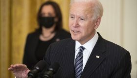 President Biden Delivers Remarks On Vaccinations