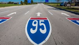 Interstate 95 road sign