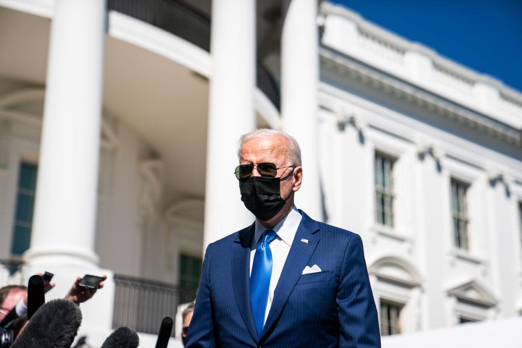 US President Joe Biden departure