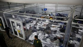 Migrants Housed In Donna, TX As Border Facilities Struggle To Handle Surge