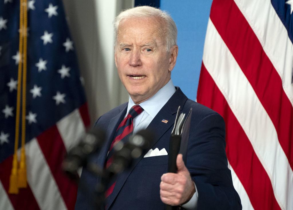 President Biden Delivers Remarks On American Jobs Plan