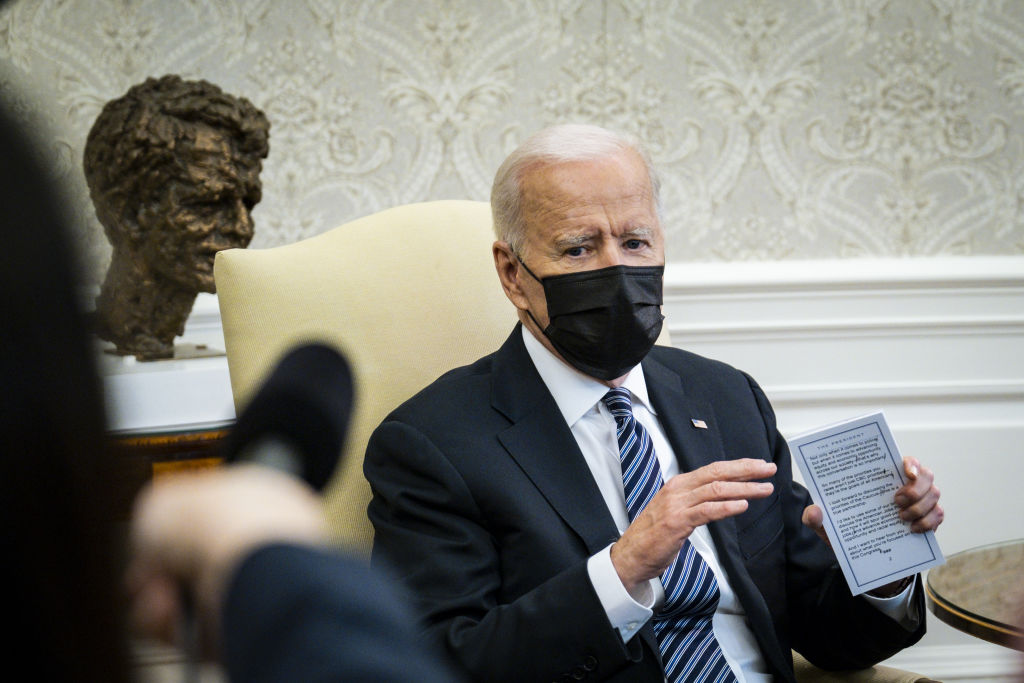 President Biden Meets With Members Of The Congressional Black Caucus