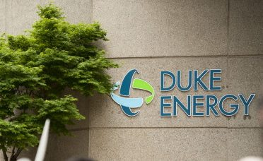 Protestors Rally Outside Duke Energy HQ During Annual Shareholder Meeting