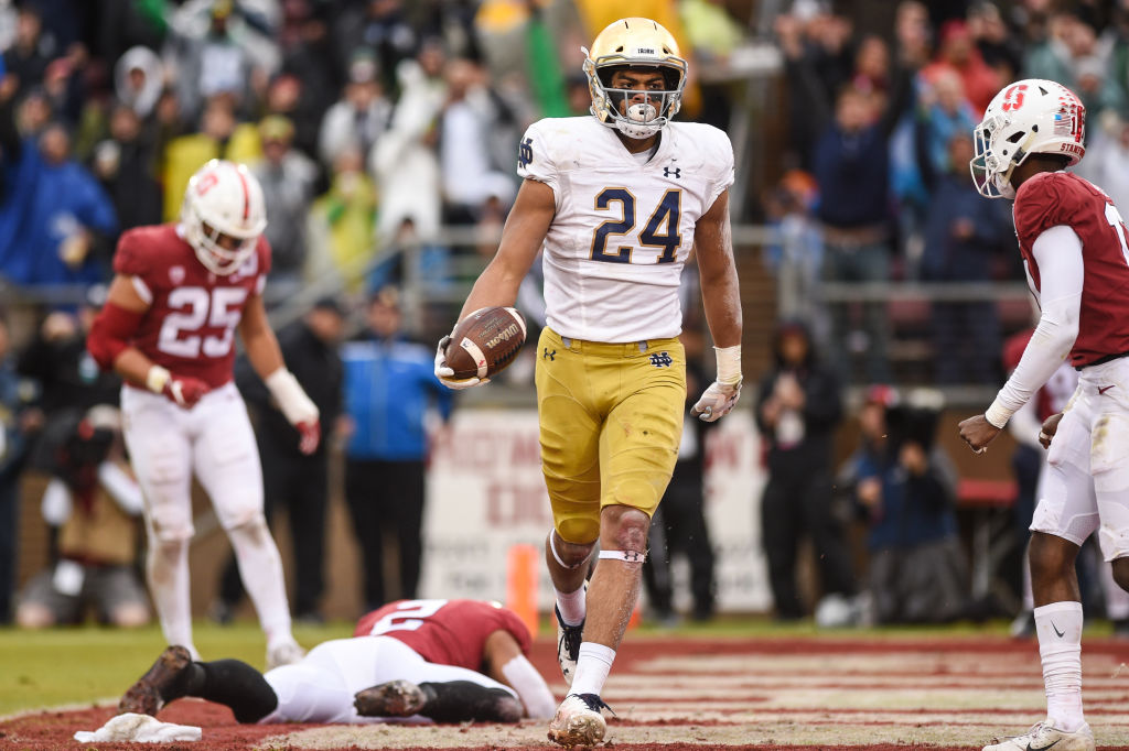 COLLEGE FOOTBALL: NOV 30 Notre Dame at Stanford