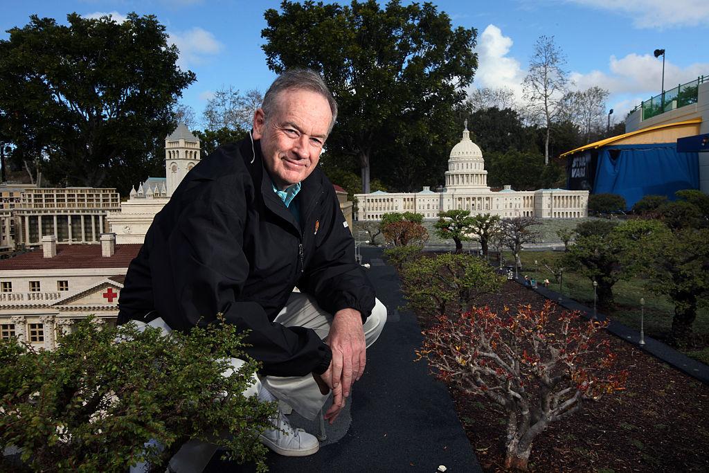 USA: Entertainment: Bill O'Reilly Visit to Legoland