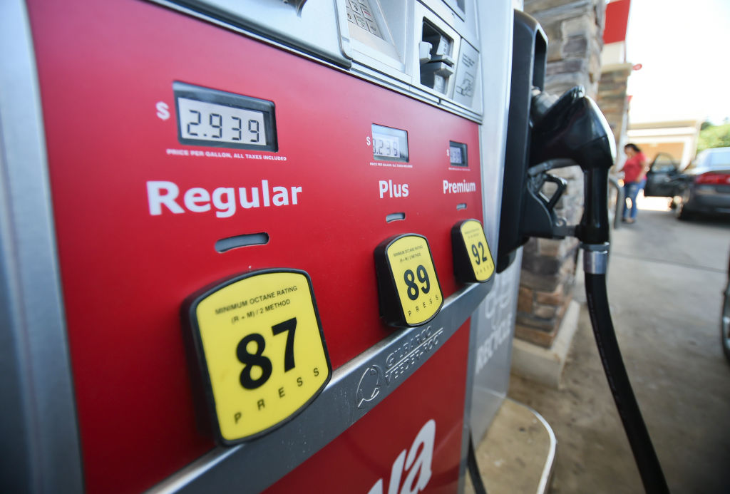 Gas Prices for travel season story. Photo by Susan L. Angstadt 6/29/2018