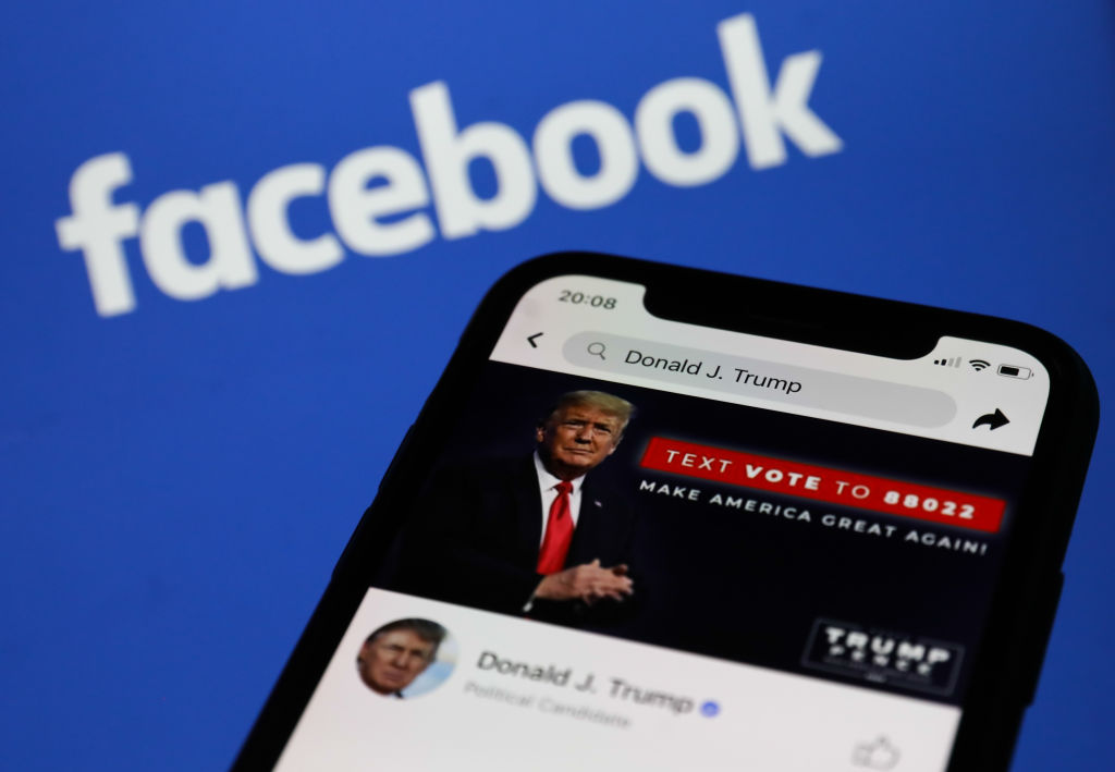 Donald Trump's Facebook Account
