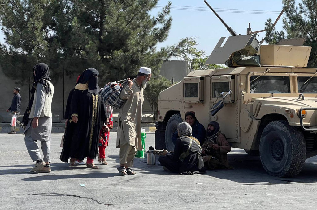 Aftermath of the 2 explosions in Kabul