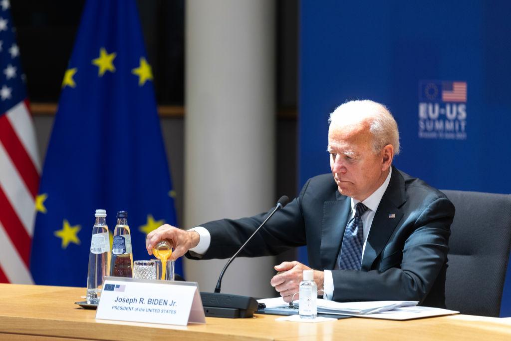 U.S. President Biden at European Union Leaders Summit